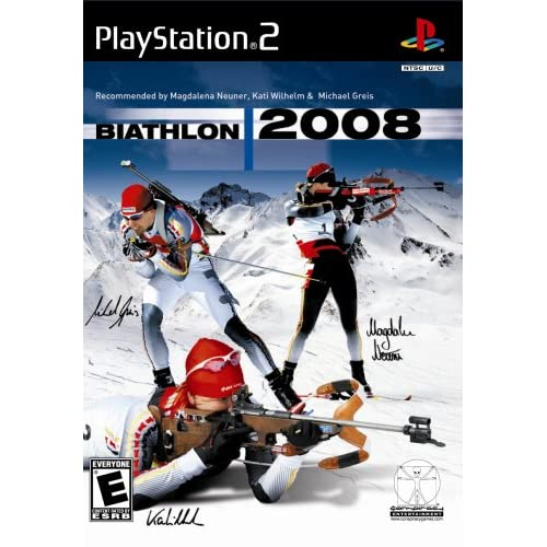 Biathlon 2008 For PlayStation 2 PS2 With Manual and Case