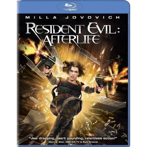 Image 0 of Resident Evil: Afterlife Blu-Ray On Blu-Ray With Milla Jovovich
