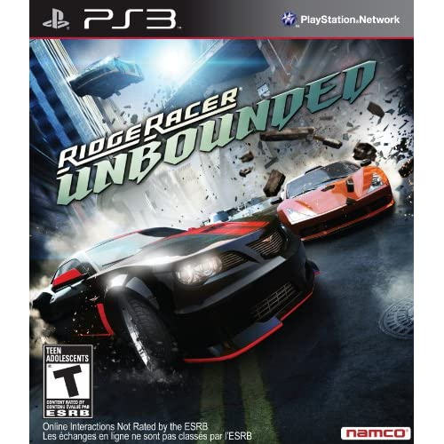 Ridge Racer Unbounded For PlayStation 3 PS3 Racing