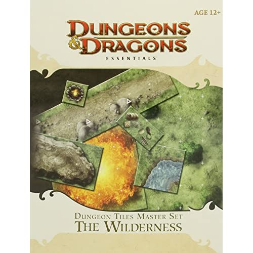 Dungeon Tiles Master Set The Wilderness 4th Edition D&d Tabletop Map