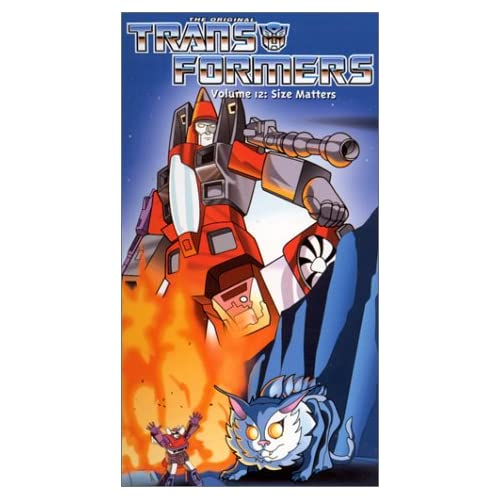 Image 0 of Transformers Vol 12: Size Matters On VHS with Frank Welker