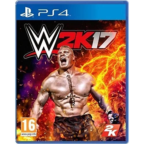 Image 0 of WWE 2K17 For Ps Vita Wrestling PS4 For PlayStation 4