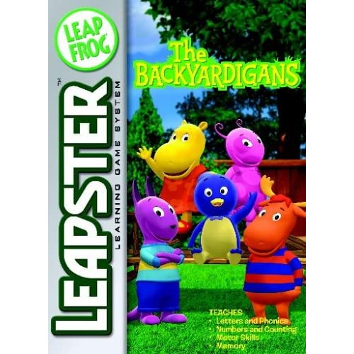Leapfrog Leapster Learning Game Backyardigans For Leap Frog Arcade