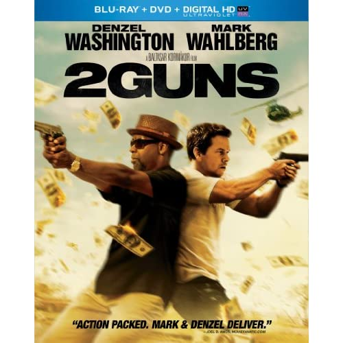 Image 0 of 2 Guns Blu-Ray On Blu-Ray With Denzel Washington