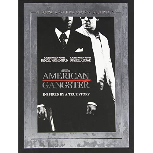 Image 0 of American Gangster Three-Disc Edition On DVD With Denzel Washington 3 Drama