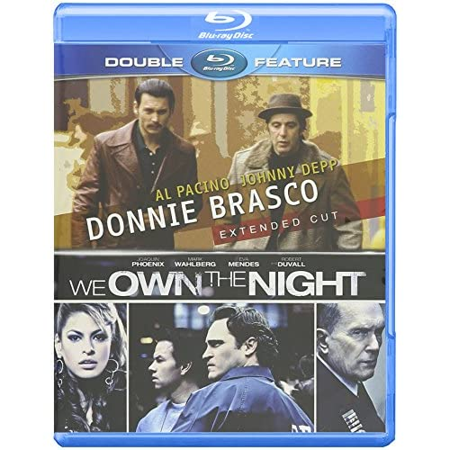 Image 0 of Donnie Brasco / We Own The Night Set Blu-Ray On Blu-Ray With Johnny Depp