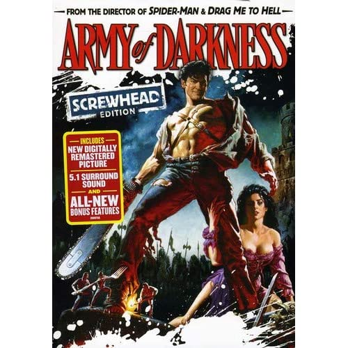 Image 0 of Army Of Darkness Screwhead Edition On DVD With Bruce Campbell Horror