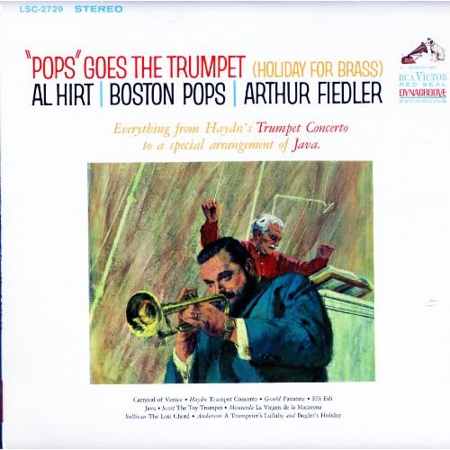 Pop Goes The Trumpet Holiday For Brass By Al Hirt On Vinyl Record