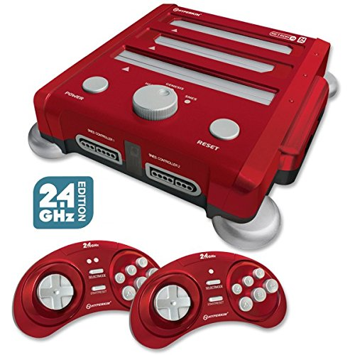Hyperkin Retron 3 Video Game System For Nes/snes/genesis Red Console Home NES