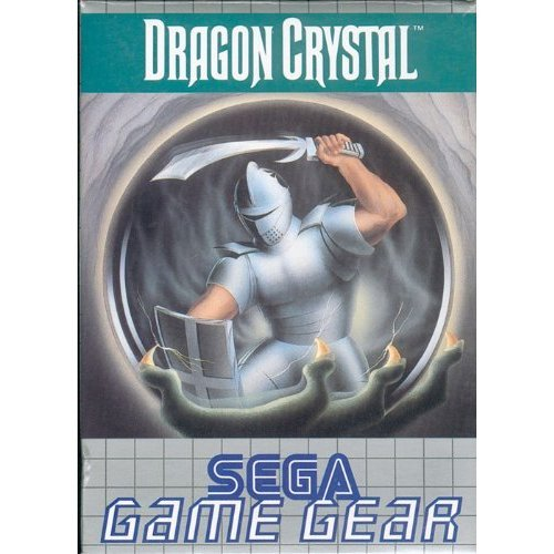 Image 0 of Dragon Crystal For Vintage For Sega Game Gear