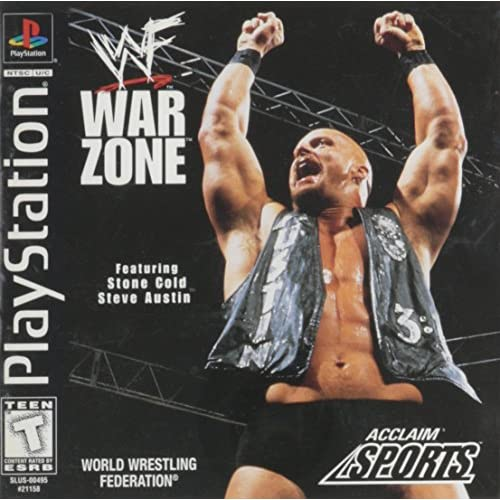 Image 0 of WWF Warzone For PlayStation 1 PS1 Wrestling