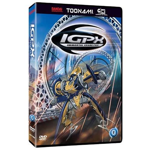 Image 0 of IGPX Vol 1 Toonami Edition On DVD With Peter Cullen Anime