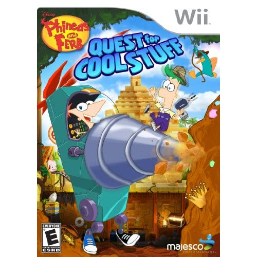 Image 0 of Phineas And Ferb: Quest For Cool Stuff For Wii and Wii U