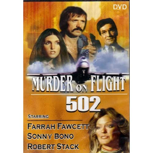 Image 0 of Murder On Flight 502 Slim Case On DVD With Farrah Fawcett