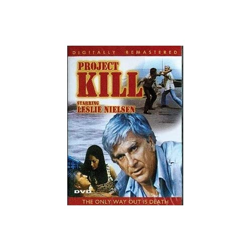 Image 0 of Project Kill On DVD with Leslie Neilsen