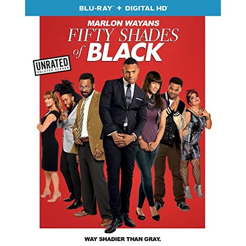 Fifty Shades Of Black Blu-Ray On Blu-Ray With Marlon Wayans 50 Comedy