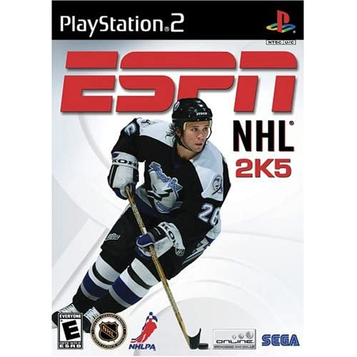 ESPN NHL 2K5 For PlayStation 2 PS2 Hockey With Manual and Case