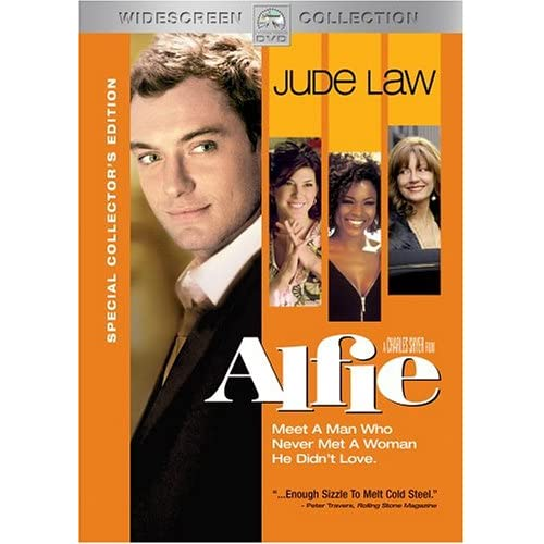 Alfie Widescreen Special Edition On DVD with Jude Law Comedy