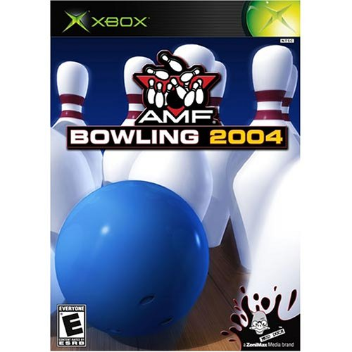 AMF Bowling 2004 For Xbox Original With Manual And Case