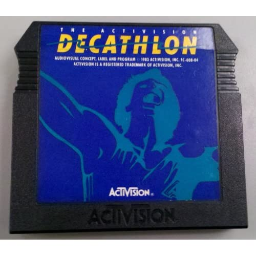 Decathlon For Atari Vintage