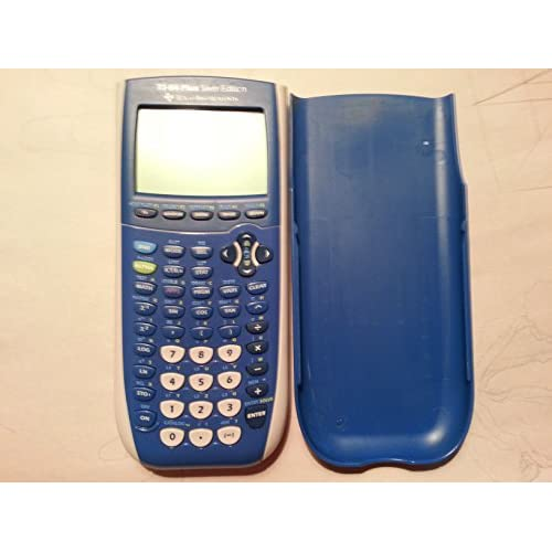 Image 0 of Texas Instruments TI-84 Plus Silver Edition Graphing Calculator Bright Blue