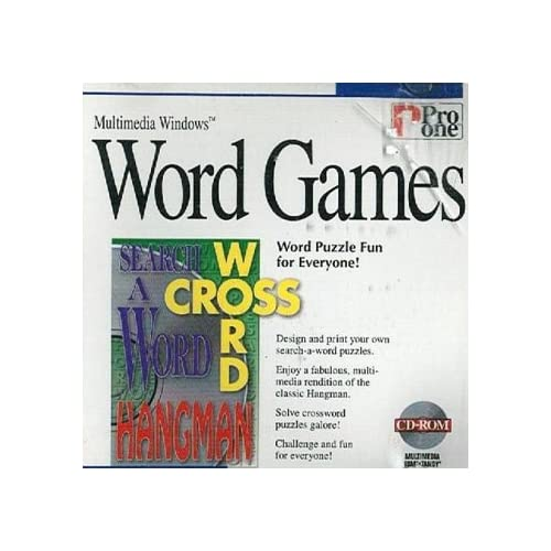 Image 0 of Cd-Rom Word Games By Pro One For Multimedia Windows 3.1 95 Or Higher Software