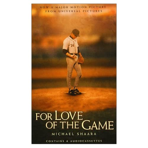 Image 0 of For The Love Of The Game By Michael Shaara On Audio Cassette