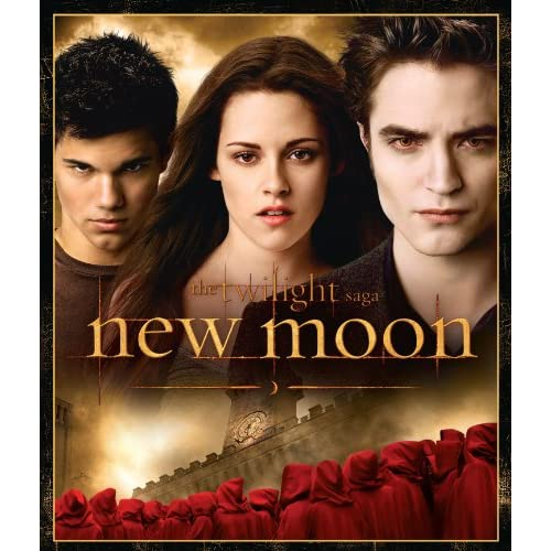 Image 0 of The Twilight Saga: New Moon Blu-Ray On Blu-Ray With Kristen Stewart Romance