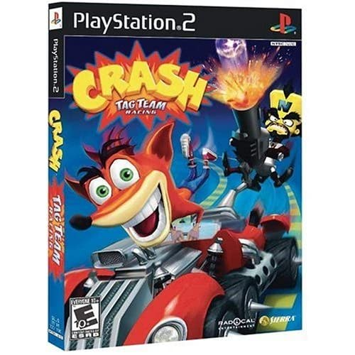 Crash Tag Team Racing For PlayStation 2 PS2 With Manual and Case