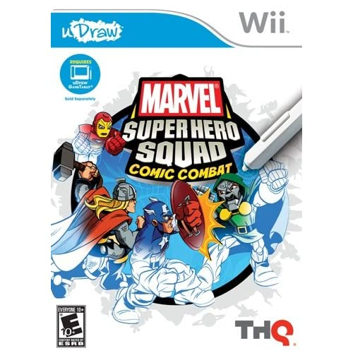 Image 0 of uDraw Marvel Super Hero Squad: Comic Combat For Wii And Wii U