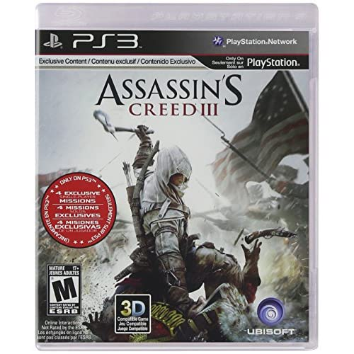 Assassin's Creed III For PlayStation 3 PS3