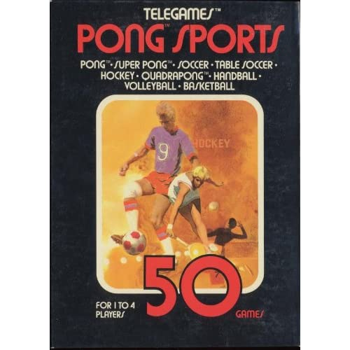 50 Tele-Games: Pong Sports For Atari Vintage