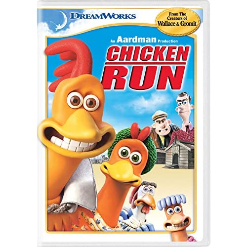 Image 0 of Chicken Run On DVD With Phil Daniels
