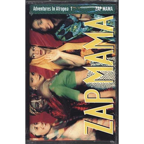 Adventures In Afropea 1 By Zap Mama On Audio Cassette