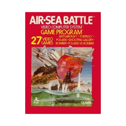 Air-Sea Battle For Atari Vintage