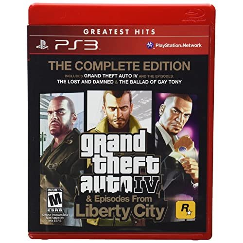 Image 0 of Grand Theft Auto IV And Episodes From Liberty City: The Complete Edition For Pla