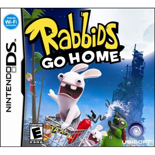 Image 0 of Rabbids Go Home For Nintendo DS DSi 3DS 2DS