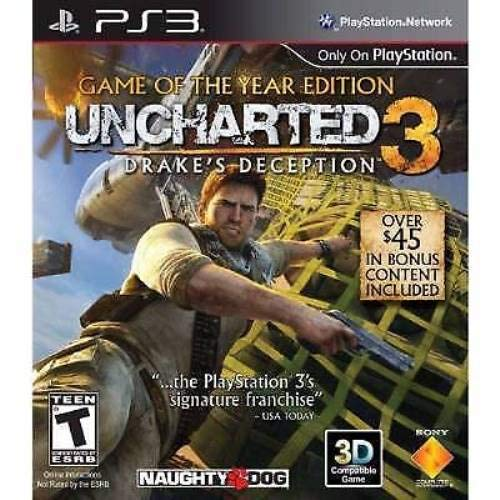 Image 0 of PS3 Uncharted 3 Game Of The Year Edition For PlayStation 3