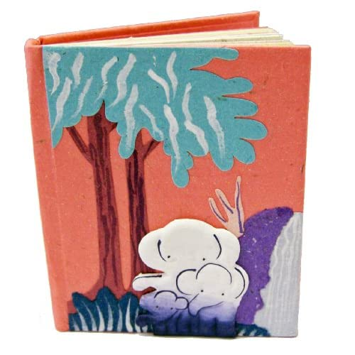 Mr Ellie Pooh Small Notebook Pink Snb-Pink