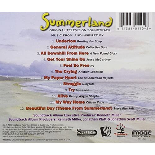 Image 2 of Summerland By Summerland On Audio CD Album 2005
