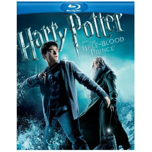 Image 0 of Harry Potter And The Half-Blood Prince Blu-Ray On Blu-Ray With Daniel Radcliffe