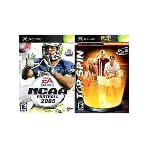 Image 0 of Top Spin/ NCAA Football 2005 By Microsoft For Xbox Original