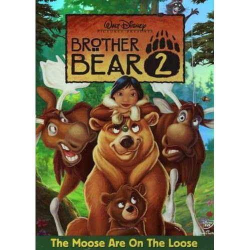 Image 0 of Brother Bear 2 On DVD With Patrick Dempsey Disney Children