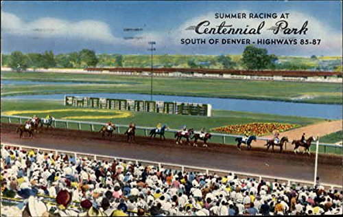 Summer Racing at Centennial Park in Littleton, Colorado