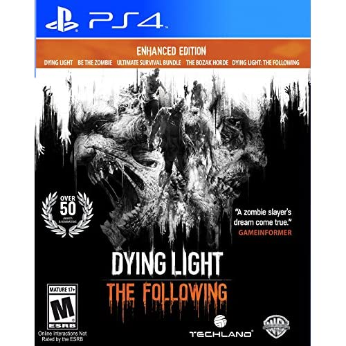 Dying Light: The Following Enhanced Edition PlayStation 4 For PlayStation 3 PS3