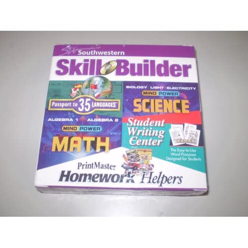 Image 0 of Printmaster Homework Helpers / Southwestern Skill Builder / Passport To 35 Langu