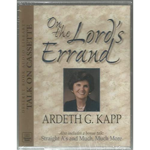 Image 0 of On The Lord's Errand: Backed By Straight A's And Much Much More By Ardeth G Kapp