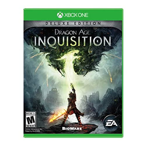 Dragon Age Inquisition Deluxe Edition For Xbox One RPG With Manual and Case