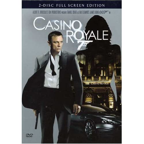 Image 0 of Casino Royale 2-disc Full Screen Edition On DVD With Daniel Craig