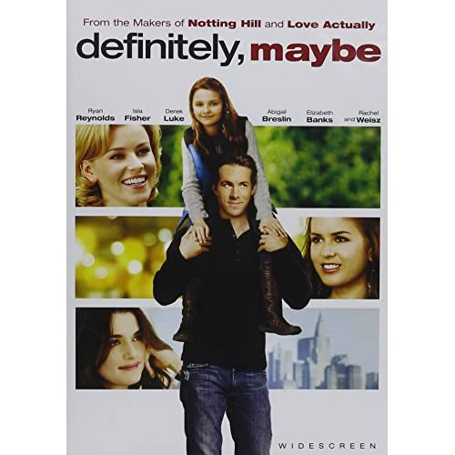 Image 0 of Definitely Maybe Widescreen On DVD With Ryan Reynolds Romance